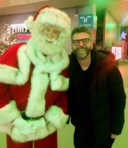 Acteur Olaf van der Hee als Kerstman en Sinterklaas inhuren.