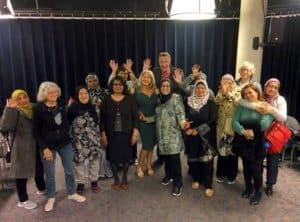De Nederlandse Taalshow en de taalmaatjes van Opzoomer Mee