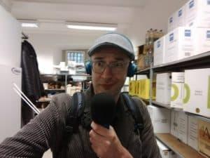 Acts op maat Radiopresentator acteur Olaf van der Hee voor de Gemeente Rotterdam